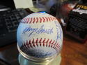 1967 Detroit Tigers Team Signed Baseball  27 sigs