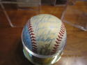 1959 San Francisco Giants Signed Team ball 26 signatures Willie Mays