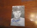 Hoyt Wilhelm SIGNED white sox post card