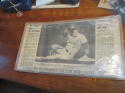 Jose Canseco Signed newspaper when he reached 40/40