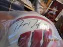 AUTOGRAPHED Ron Dayne Wisconsin HEISMAN Mini Helmet