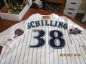 2001 Arizona Diamondbacks Signed Curt Schilling Authentic World Series Jersey