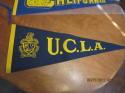1950's UCLA blue felt soft Pennant em