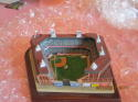 Danbury Mint Ebbets Field 1996 Brooklyn Dodgers stadium (broken lights)