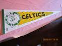 1980's Boston Celtics pennant green /white