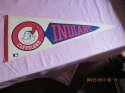 Cleveland Indians arrow baseball pennant