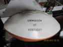 1976 University of Kentucky Team Signed Football lite signature