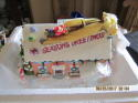 2003 Hawthorne Village Flander's House The Simpson Christmas Village in box