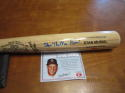 Stan the Man Musial Signed full size Adirondack baseball  bat COA