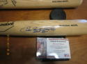 Enos Slaughter Cardinals HoF 85 Signed full size Adirondack baseball bat  psa/dna
