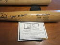 Hank Aaron Braves Signed full size Adirondack baseball bat  COA