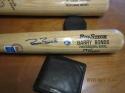 Barry Bonds Giants 171/250 Signed full size Big Stick baseball bat  sticker coa