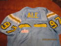 1991 Arnold Ale UCLA Game used jersey #97 Goodwin