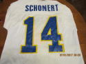 1979 Turk Schonert University of Stanford East - West Shrine Game Used jersey