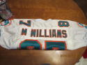 1994 Mike Williams Miami Dolphins Game Used Jersey