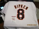 Cal Ripken Jr Signed Autographed White Jersey JSA Authenticated