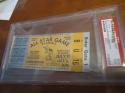 1960 All Star Ticket kansas city psa 2 (creased)