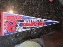 Buffalo Bills Superbowl champions XXVI full size Pennant