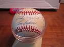 Hall of Fame 10 sigs Signed  Baseball lefty gomez luke appling etc