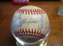 1987 Kansas City Royals Signed Team Baseball 33 auto's