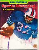 sports illustrated no label OJ Simpson Buffalo Bills Sept 16 1974 bxsi2nl