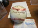 1986 California Angels Team Signed Baseball 29 sigs