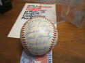 1958 Birmingham Barons Team Signed Baseball 20 sigs Southern Champions