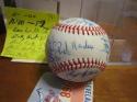 1981 Oakland Athletics A's Signed Team ball 26 signatures  AL Champions psa/dna