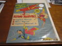 1945 Captain Marvel Flying paper toy Golden Age comic book superhero uncut dolls