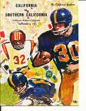 Nov 4 1967 California USC Football Program CFBbx5