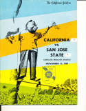 Nov 11 1967 California San Jose State Football Program CFBbx5