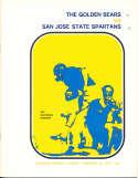 Nov 14 1970 California San Jose State Football Program CFBbx5