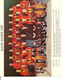 1967 Chicago Black hawks 8x10 team color photo