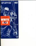 1967 Chicago White Sox Press Guide em
