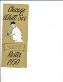 1950 chicago White sox Spring Training Roster em