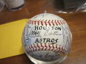 1966 Houston Astros Team Signed Baseball 30 sigs nellie Fox Nellie Fox psa/dna