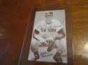 Elston Howard New York Yankees Signed Exhibit card