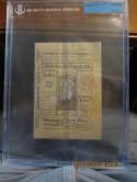 1914 George Sisler University of Michigan Baseball program