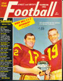 1963 Pete Beathard Hal Bedsole USC Street Smith Football Yearbook SnSFB1