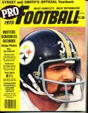 1975 Franco Harris Steelers Pro Street Smith Football Yearbook SnSFB1