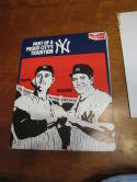 1970's Roger Maris Mickey Mantle New York Yankees Budweiser Counter display sign
