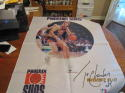 1989 Phoenix Suns Tom Chambers large banner 28 x 44 cloth banner