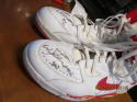 Scott Williams Chicago Bulls Game Used Nike Air Force Basketball Signed Shoes 1993