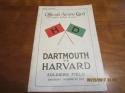 10/24 1925 Dartmouth vs Harvard  Football Program em National Champions