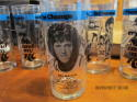 1977-78 PORTLAND TRAIL BLAZERS RC Cola Salutes THE CHAMPS Set of 8 Glasses Glass