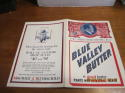 1939 Chicago White Sox vs Saint Louis Browns unscored baseball program