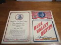 1938 May 1st St. Louis Browns vs chicago White Sox unscored program
