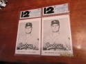 2 1961 Los Angeles Dodgers Picture Pack Jay unopened! Don Drysdale