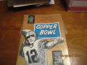1960 12/31 Copper Bowl Program National vs Southwest College All Stars