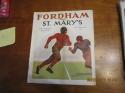 1934 10/20 Fordham (vince Lombardi) vs st. Mary's Football Program